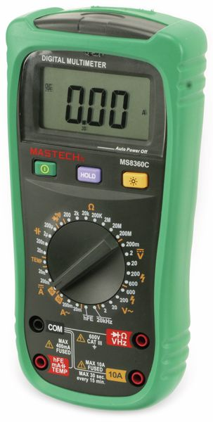 Digital-Multimeter MASTECH MS8360C, NCV - Produktbild 5
