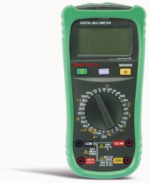 Digital-Multimeter MASTECH MS8360E, NCV - Produktbild 4