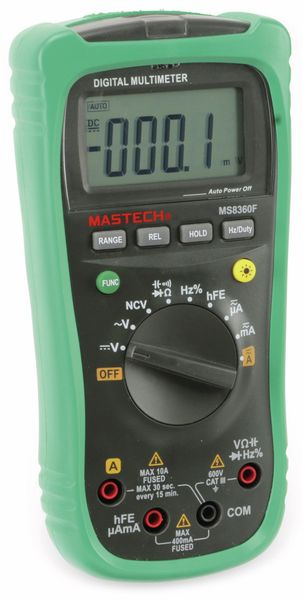 Digital-Multimeter MASTECH MS8360F, NCV - Produktbild 4