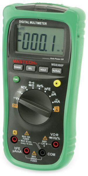 Digital-Multimeter MASTECH MS8360F, NCV - Produktbild 5