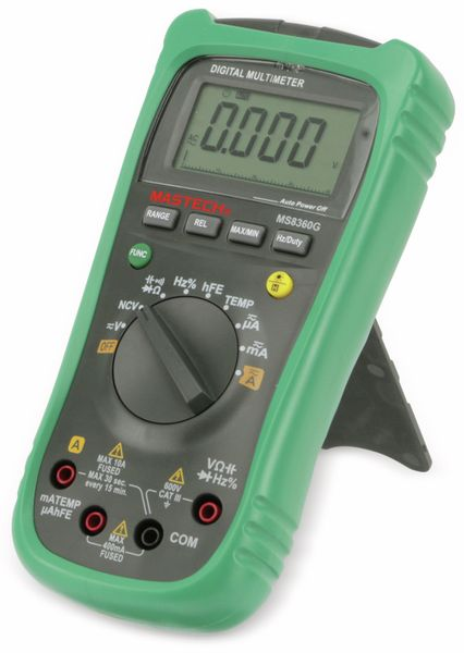 Digital-Multimeter MASTECH MS8360G, NCV - Produktbild 2