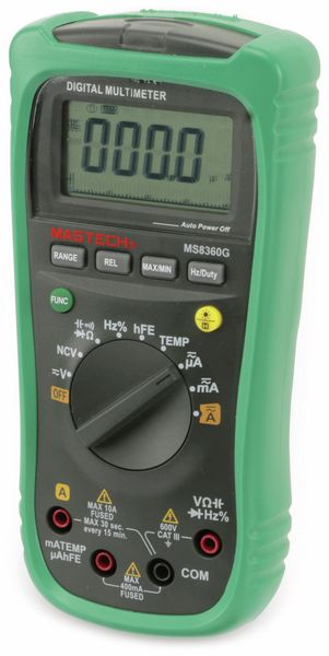 Digital-Multimeter MASTECH MS8360G, NCV - Produktbild 4