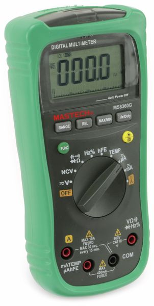 Digital-Multimeter MASTECH MS8360G, NCV - Produktbild 5