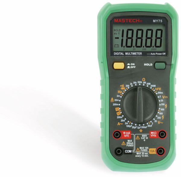 Digital-Multimeter MASTECH MY75 - Produktbild 4