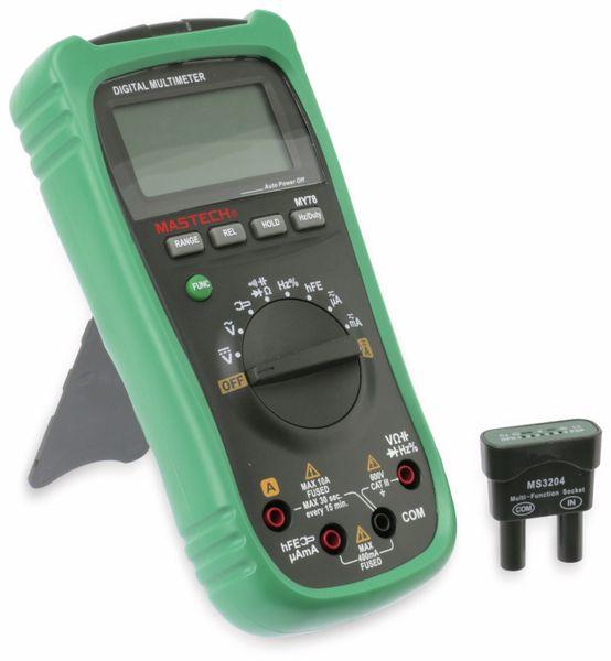 Digital-Multimeter MASTECH MY78 - Produktbild 1