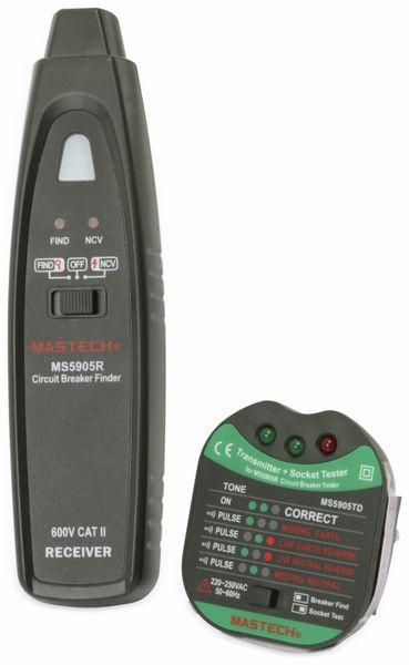 Kabelprüfer und Sicherungsfinder MASTECH MS5905RTD - Produktbild 1