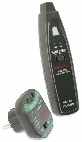 Kabelprüfer und Sicherungsfinder MASTECH MS5905RTD - Produktbild 2