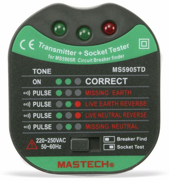Kabelprüfer und Sicherungsfinder MASTECH MS5905RTD - Produktbild 4