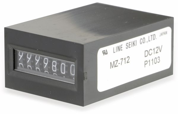 Elektromagnetisches Zählwerk LINE SEIKI MZ-712 - Produktbild 2
