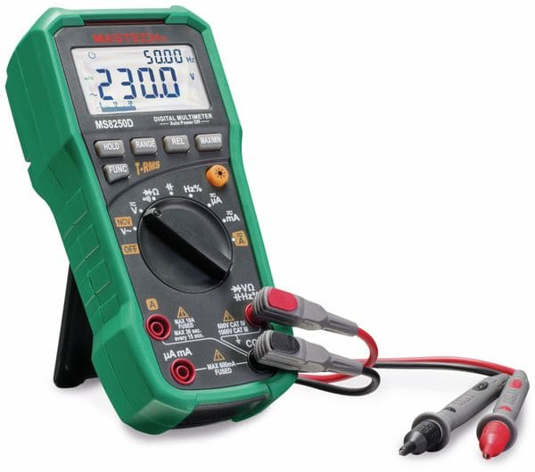 True RMS Digital-Multimeter MASTECH MS8250D - Produktbild 2
