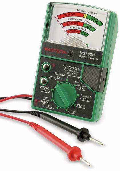 Batterietester MASTECH MS602H