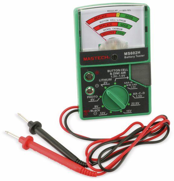 Batterietester MASTECH MS602H - Produktbild 2