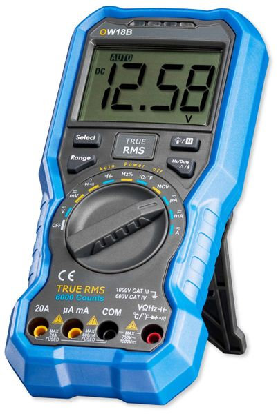 True RMS Bluetooth-Multimeter OWON OW18B - Produktbild 1