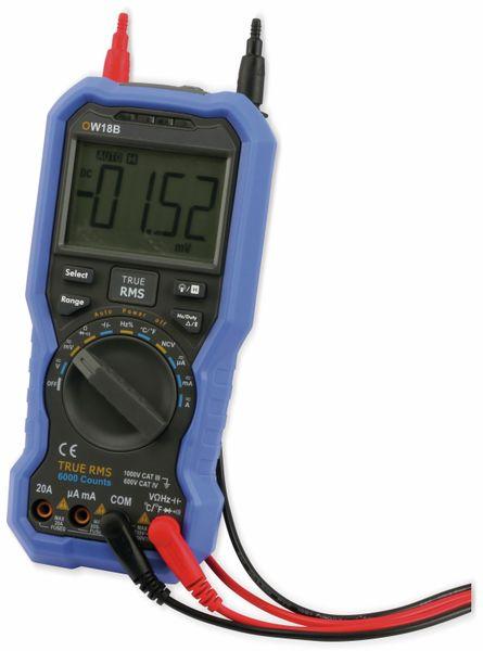True RMS Bluetooth-Multimeter OWON OW18B - Produktbild 4