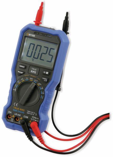 True RMS Bluetooth-Multimeter OWON OW18B - Produktbild 6