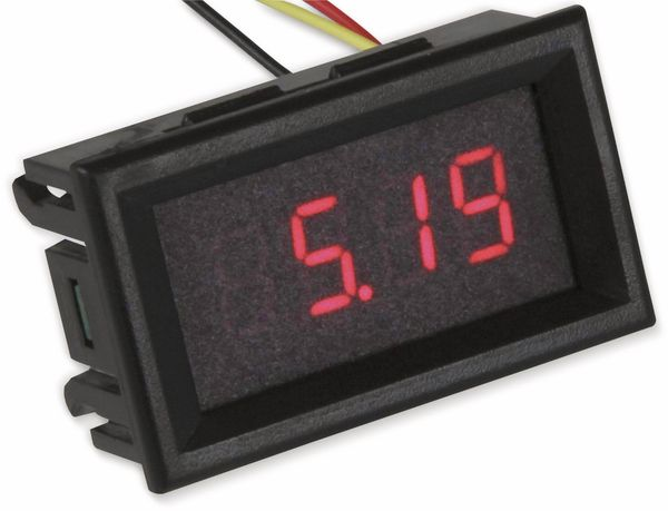 Digital Voltmeter 4 Digit, Einbauinstrument, JOY-IT