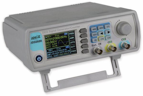 Signalgenerator und Frequenzzähler, JDS6600, JOY-IT