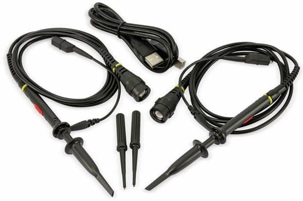 LCD Speicher-Oszilloskop OWON SDS1022, 2-Kanal, 20 MHz, USB - Produktbild 6
