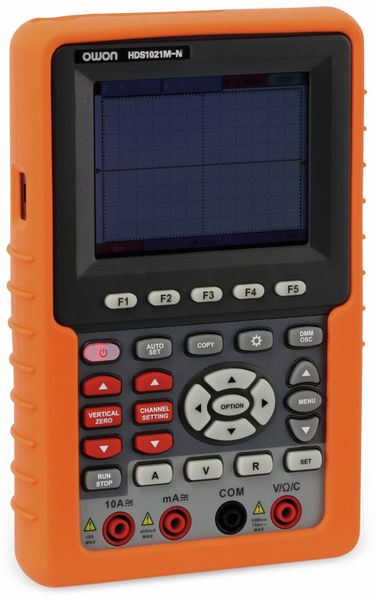 LCD-Oszilloskop mit Multimeter, OWON, HDS1021M-N, 1- Kanal, 20 Mhz