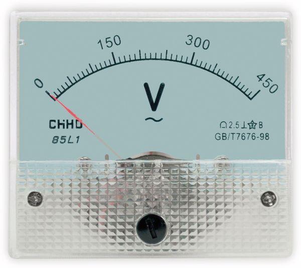 Einbau-Messinstrument, 0...450 V~