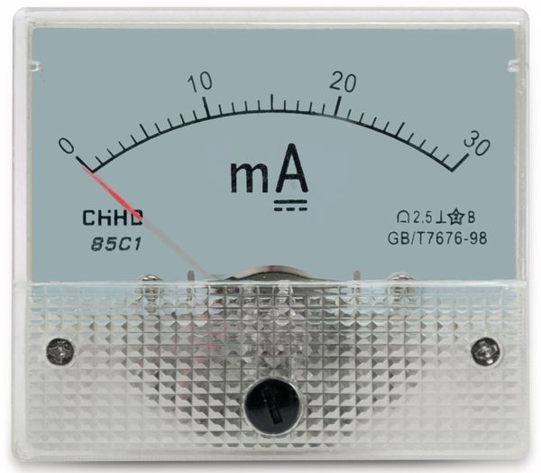 Einbau-Messinstrument, 0...30 mA-