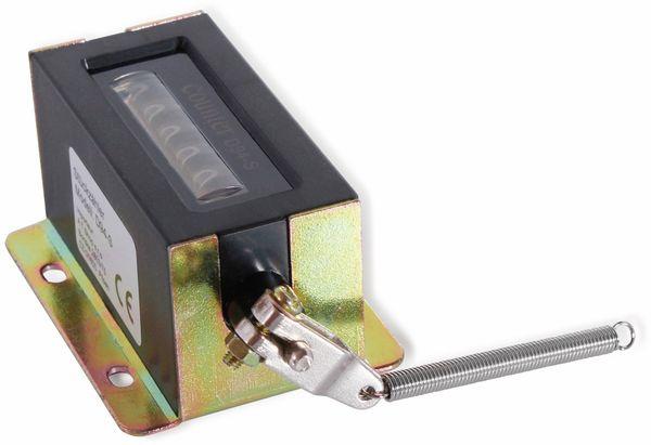 Stückzähler ONPIRA D94-S, 6-stellig, 85x46x33 mm, schwarz - Produktbild 2
