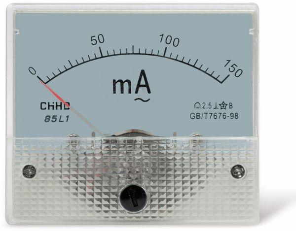 Einbau-Messinstrument, 0...150 mA~