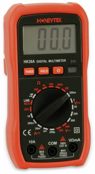 Digital-Multimeter HONEYTEK HK36A, NCV