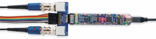 USB-Oszilloskop-Set BITSCOPE MICRO, 2+6 CH, 20 MHz, BNC-Adapter - Produktbild 2