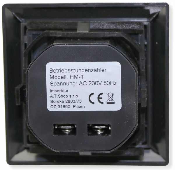 Betriebsstundenzähler HM-1 - Produktbild 2