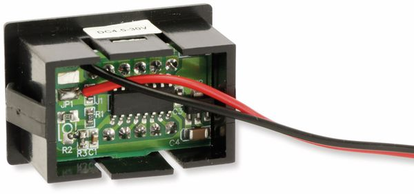 Digital-Voltmeter, 4,5...30 V, 10 mm - Produktbild 2
