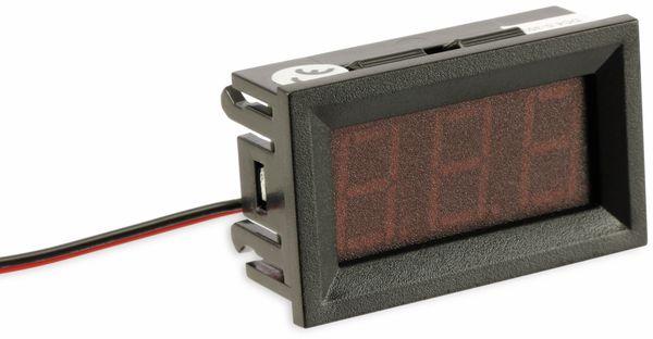 Digital-Voltmeter, 4,5...30 V, 15 mm