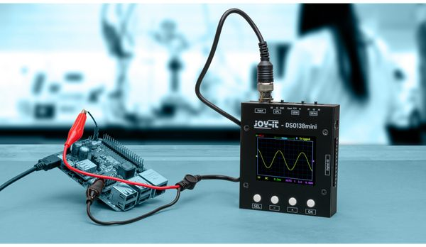 Oszilloskop, JOY-IT, DSO-138-Mini, 1-Kanal - Produktbild 2