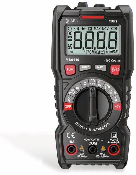 MS0110: VA-LABs TrueRMS Digital-Multimeter, 4.000 Counts