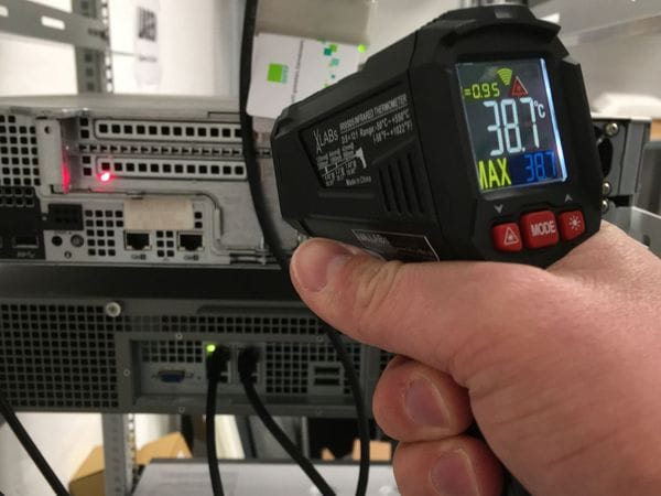 IR0505: VA LABs Infrarot-Thermometer, -50 bis +550 °C - Produktbild 2