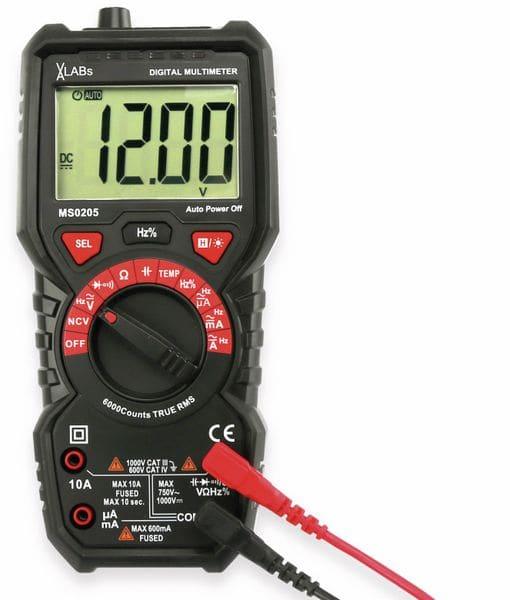 Multimeter, VA LABS, MS0205, True RMS - Produktbild 8