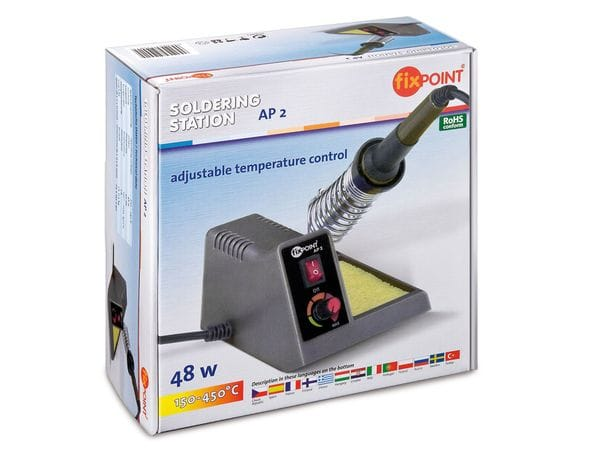 Regelbare Präzisions-Lötstation FIXPOINT AP2 - Produktbild 2