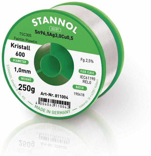 Lötzinn STANNOL Kristall 600 TSC305, 1 mm, 250 g