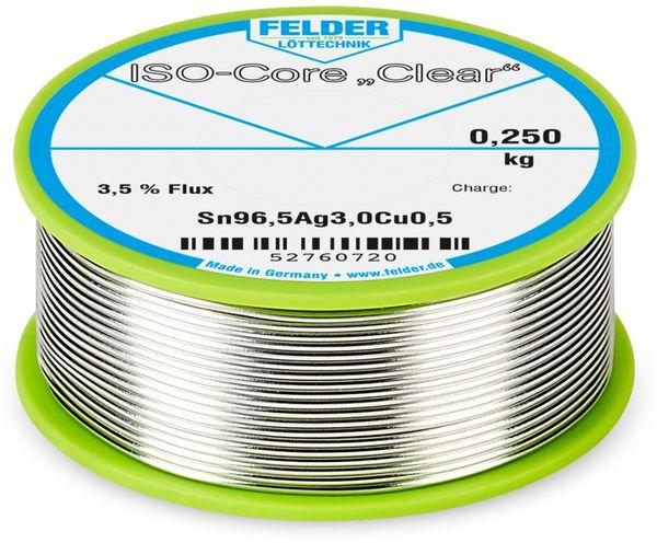 """Lötdraht ISO-Core """"Clear"""", 1mm, 250g, Sn96,5AG3,0Cu0,5"""