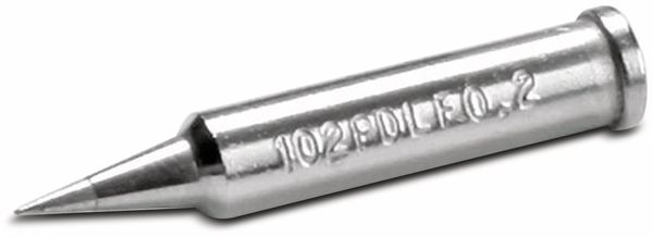 Lötspitze, ERSA, 0102PDLF02/SB, bleistiftspitz, 0,2 mm