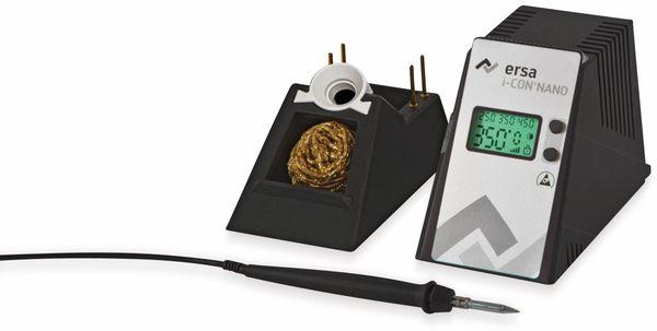 Elektronisch temperaturgeregelte Lötstation, ERSA, i-CON Nano, antistatisch