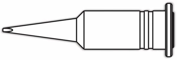 Lötspitze, ERSA, 0G072CN/SB, ERSA, meißelförmig, 1,0 mm - Produktbild 2