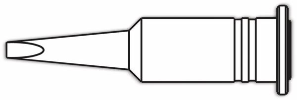 Lötspitze, ERSA, 0G072KN/SB, ERSA, meißelförmig, 2,4 mm - Produktbild 2
