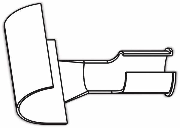 Lötspitze, ERSA, 0G072RE/SB, ERSA, Reflektorblech für Heißgasdüse 0G072HE/SB - Produktbild 2
