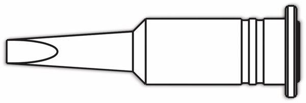 Lötspitze, ERSA, 0G072AN/SB, ERSA, meißelförmig, 3,2 mm - Produktbild 2