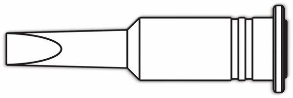 Lötspitze, ERSA, 0G072VN/SB, ERSA, meißelförmig, 4,8mm - Produktbild 2