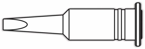 Lötspitze, ERSA, 0G132AN/SB, ERSA, meißelförmig, 3,2 mm - Produktbild 2