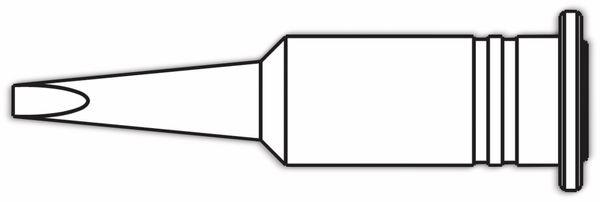 Lötspitze, ERSA, 0G132KN/SB, ERSA, meißelförmig, 2,4 mm - Produktbild 2