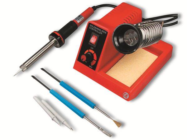 Lötstation CT-LSK 58 W, 2 Spitzen, 2 Tools