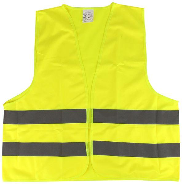 Sicherheitsweste, gelb, EN ISO 20471 - Produktbild 1